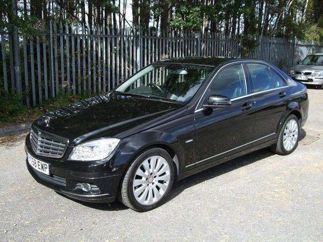 used mercedes benz 2008 black colour diesel class c200 cdi elegance saloon for sale in. Black Bedroom Furniture Sets. Home Design Ideas