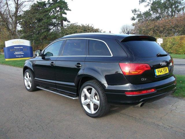 used audi q7 2006 petrol 4 2 fsi quattro s 4x4 black edition for sale in newmarket uk autopazar. Black Bedroom Furniture Sets. Home Design Ideas