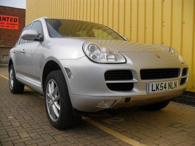 used porsche cayenne 2005 petrol s 5dr tiptronic 4x4 silver with electric windows for sale. Black Bedroom Furniture Sets. Home Design Ideas