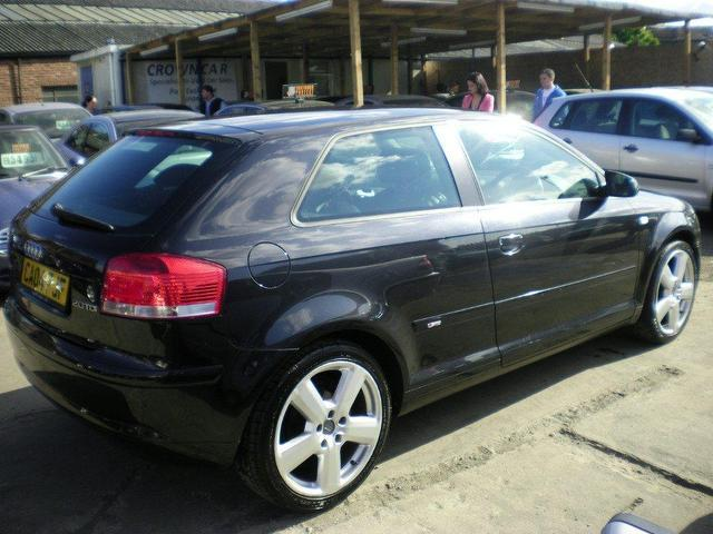 used audi a3 2004 diesel 2 0 tdi sport 3dr hatchback black edition for sale in wembley uk. Black Bedroom Furniture Sets. Home Design Ideas