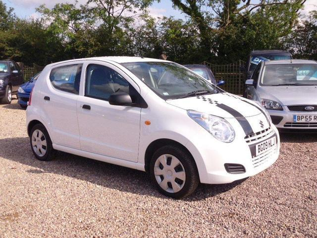 used suzuki alto 2009 petrol 1 0 sz3 5dr hatchback white edition for sale in nuneaton uk autopazar. Black Bedroom Furniture Sets. Home Design Ideas