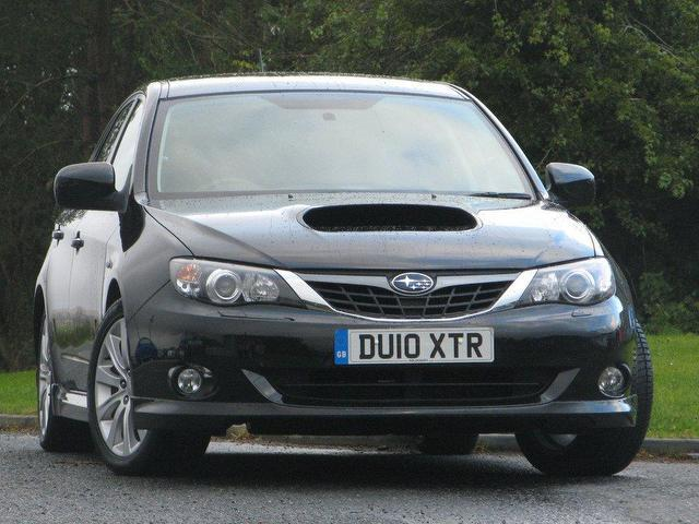 used subaru impreza 2010 petrol 2 5 wrx 5dr hatchback black edition for sale in turrif uk. Black Bedroom Furniture Sets. Home Design Ideas