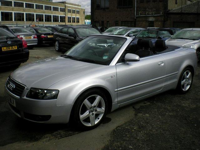 Used Audi A4 1.8t Sport 2 Door  Convertible Silver 2003 Petrol for Sale in UK
