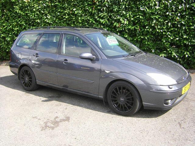 Used 2003 Ford Focus Estate Grey Edition 2 0 St170 5dr Petrol For