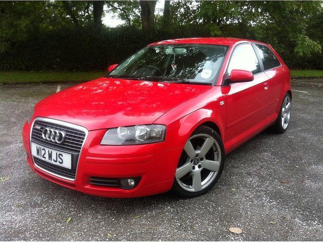 Used 2005 Audi A3 Hatchback Red Edition 1 6 3dr Petrol For