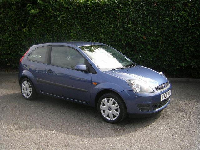 used ford fiesta 2006 blue paint petrol style 3dr climate hatchback for sale in. Black Bedroom Furniture Sets. Home Design Ideas