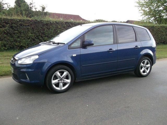 used 2009 ford c max estate blue edition 1 6 zetec 5dr petrol for sale in newmarket uk autopazar. Black Bedroom Furniture Sets. Home Design Ideas