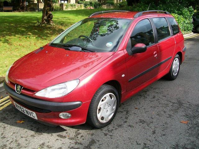 used red peugeot 206 2003 diesel 2 0 hdi 90 td estate in great condition for sale autopazar. Black Bedroom Furniture Sets. Home Design Ideas