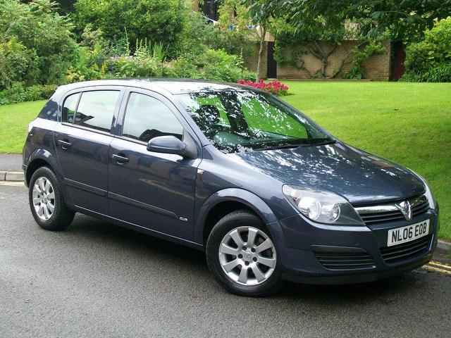 used vauxhall astra 2006 diesel 1 7 cdti 16v club. Black Bedroom Furniture Sets. Home Design Ideas