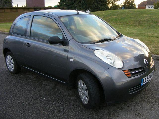 used nissan micra 2005 manual petrol 1 2 s 3 door grey for. Black Bedroom Furniture Sets. Home Design Ideas