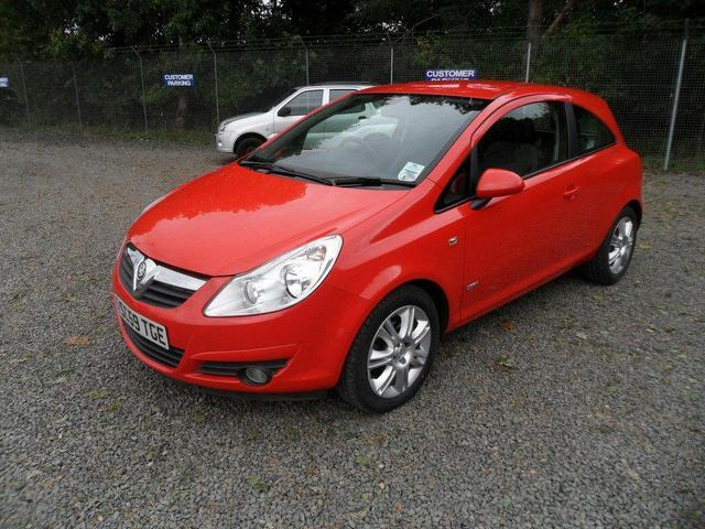 used vauxhall corsa 2010 red paint petrol 16v design. Black Bedroom Furniture Sets. Home Design Ideas