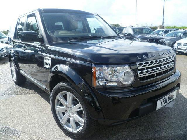 used land rover discovery car 2011 black diesel 3 0 tdv6 gs 4x4 for sale in penzance uk autopazar. Black Bedroom Furniture Sets. Home Design Ideas