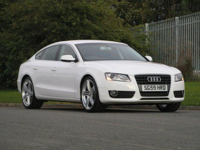 Used audi a5 2009 diesel 2 0 tdi 143 se hatchback white edition for sale in turrif uk autopazar - White audi a5 coupe for sale ...