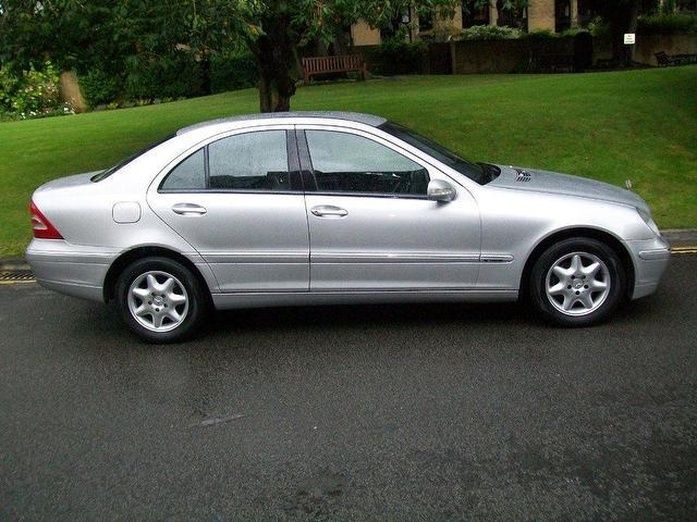 used mercedes benz 2002 silver colour diesel class c220 cdi elegance saloon for sale in keynsham