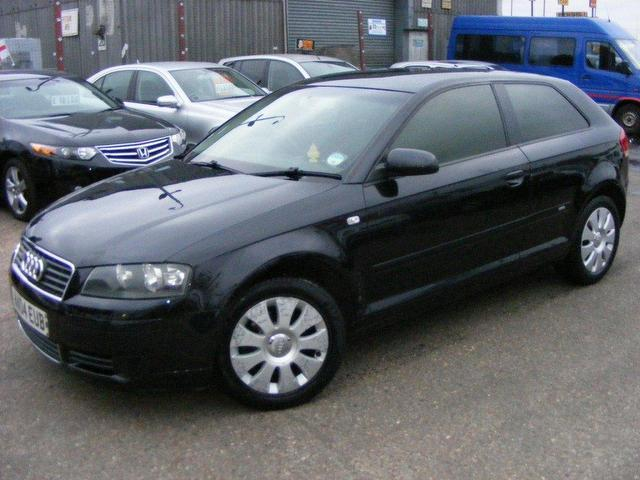 used audi a3 2004 model 1 6 special edition 3dr petrol hatchback black for sale in wembley uk. Black Bedroom Furniture Sets. Home Design Ideas