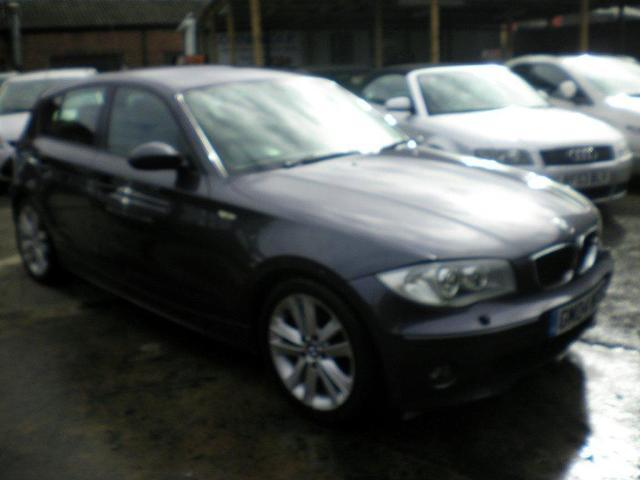 used bmw 1 series 2004 manual diesel 120d sport 5 door grey for sale uk autopazar. Black Bedroom Furniture Sets. Home Design Ideas