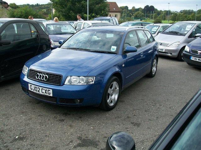 Used Audi A4 2002 Blue Estate Diesel Manual for Sale
