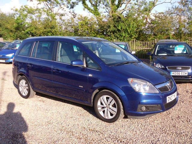used 2007 vauxhall zafira estate design 5dr petrol for sale in nuneaton uk autopazar. Black Bedroom Furniture Sets. Home Design Ideas