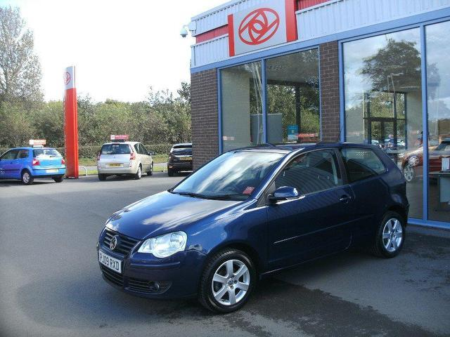Used Volkswagen Polo 2009 Blue Hatchback Petrol Manual for Sale