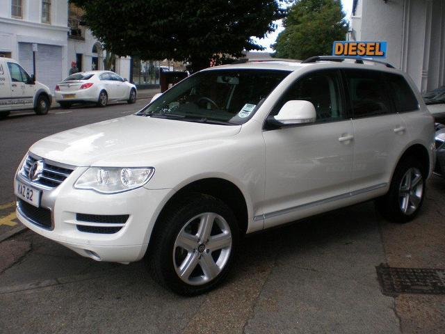 used volkswagen touareg 2007 diesel 3 0 v6 tdi se 4x4. Black Bedroom Furniture Sets. Home Design Ideas