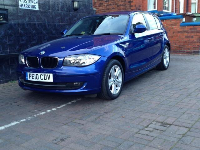 used 2010 bmw 1 series hatchback 116i 2 0 se petrol for. Black Bedroom Furniture Sets. Home Design Ideas