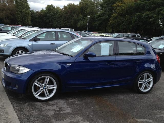 used bmw 1 series 2009 manual diesel 118d m sport blue for. Black Bedroom Furniture Sets. Home Design Ideas