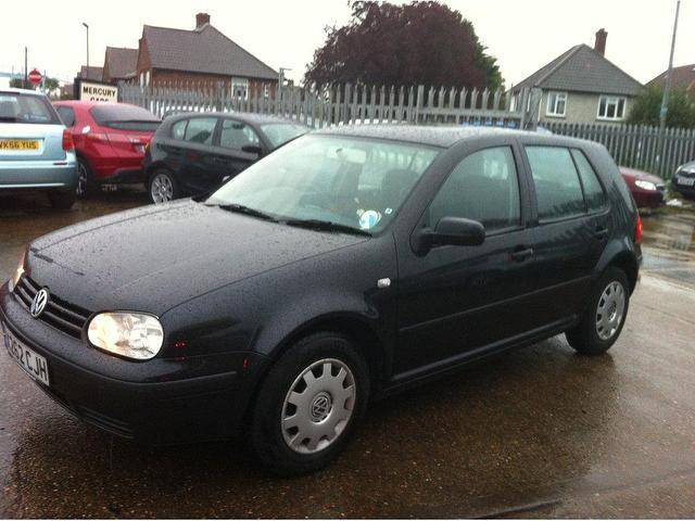 Used Volkswagen Golf 2000 Black Hatchback Petrol Manual for Sale