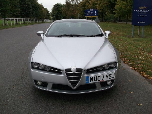 Used Cars In Newmarket >> Used Silver Alfa Romeo Brera 2007 Petrol 2.2 Jts Sv Hatchback Excellent Condition For Sale ...