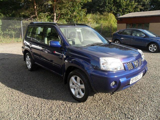 used nissan x trail 2005 blue paint diesel 2 2 dci 136. Black Bedroom Furniture Sets. Home Design Ideas