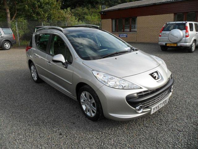 used peugeot 207 2008 grey paint diesel 1 6 hdi 90 sport. Black Bedroom Furniture Sets. Home Design Ideas