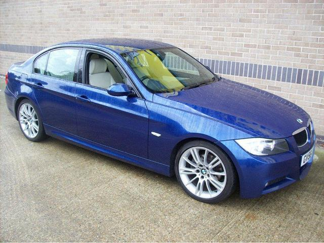 used bmw 3 series 2006 manual diesel 320d m sport blue for sale uk autopazar. Black Bedroom Furniture Sets. Home Design Ideas