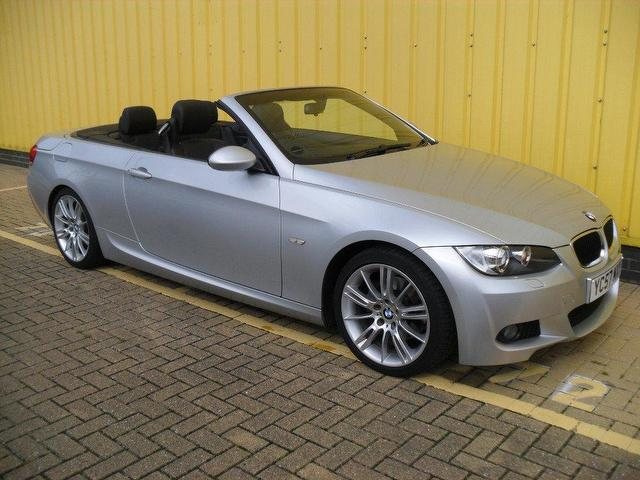 used 2007 bmw 3 series convertible 320i m sport petrol for sale in portsmouth uk autopazar. Black Bedroom Furniture Sets. Home Design Ideas