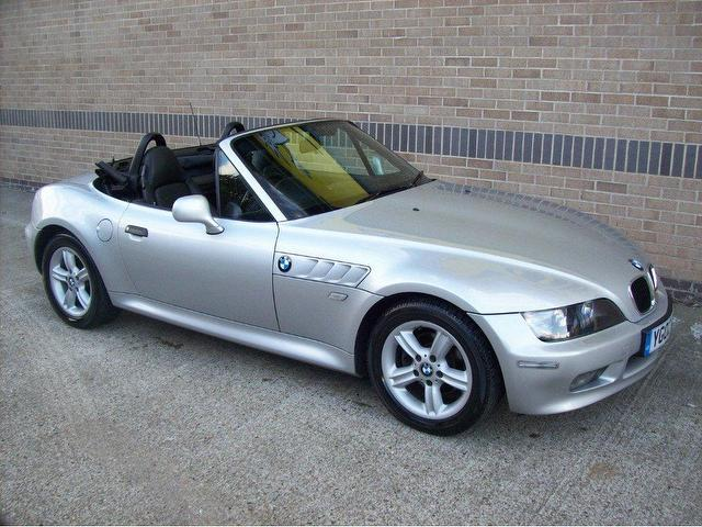Used Bmw Z3 2002 Manual Petrol 1 9 2 Door Silver For Sale