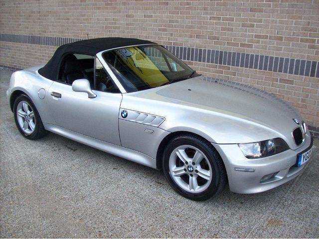 Used Bmw Z3 2002 Manual Petrol 1 9 2 Door Silver For Sale Uk Autopazar