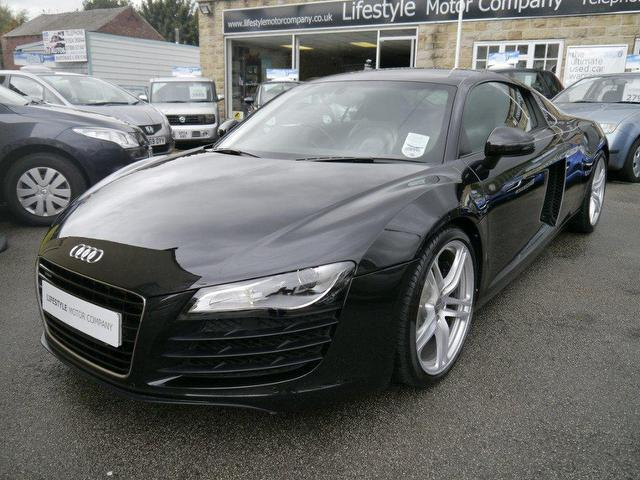 Used Audi R8 2007 Black Paint Petrol 42 Fsi Quattro 2dr Coupe For