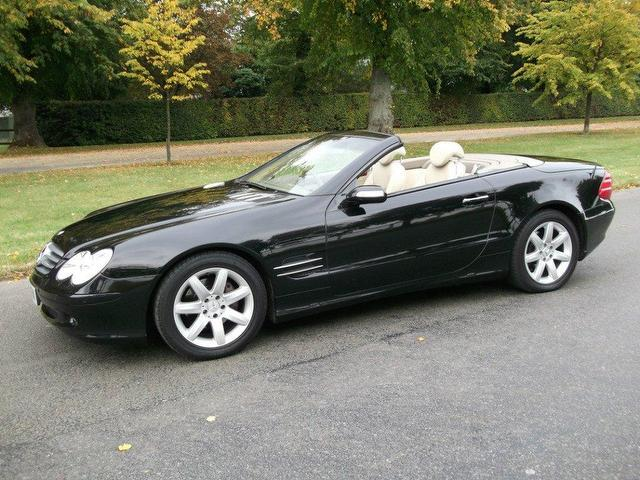 used 2004 mercedes benz convertible black edition class sl