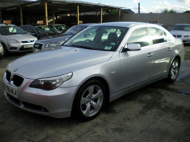 Used 2006 Bmw 5 Series Saloon Silver Edition 520d Se 4dr