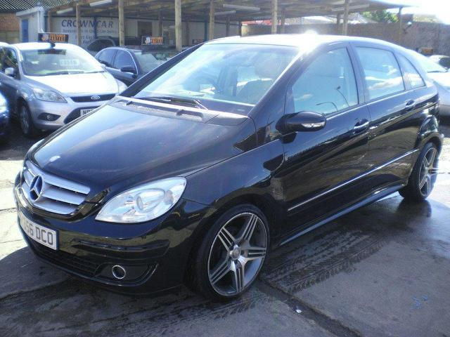 used mercedes benz car 2007 black diesel class b200 cdi se hatchback for sale in wembley uk. Black Bedroom Furniture Sets. Home Design Ideas