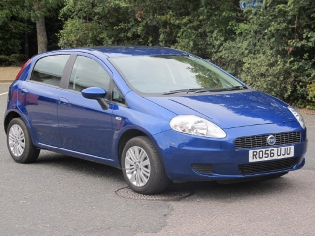 used blue fiat grande 2006 petrol punto in great condition. Black Bedroom Furniture Sets. Home Design Ideas