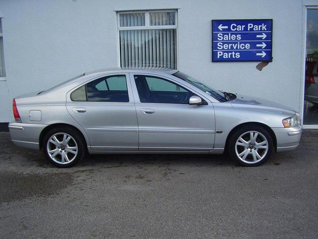 Used Volvo S60 2005 Silver Paint Diesel 2 4 D5 Se 4dr