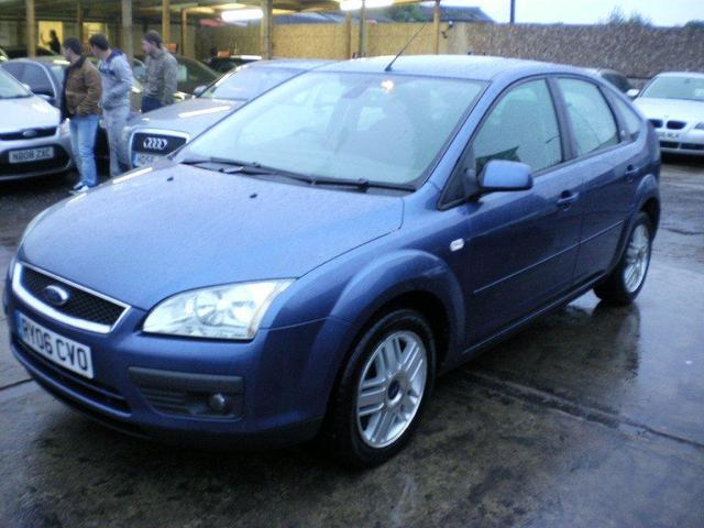 used ford focus 2006 blue paint diesel 2 0 tdci ghia 5dr. Black Bedroom Furniture Sets. Home Design Ideas