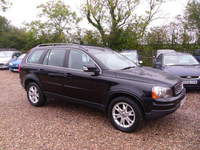 used volvo xc90 car 2008 black diesel 2 4 d5 se 5 door 4x4 for sale in nuneaton uk autopazar. Black Bedroom Furniture Sets. Home Design Ideas