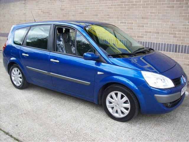 used renault grand 2007 blue paint diesel scenic 1 5 dci dynamique estate for sale in norwich uk. Black Bedroom Furniture Sets. Home Design Ideas