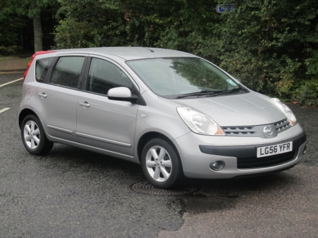 Used Cars Under 4000 >> Used Nissan Note Car 2006 Silver Petrol For Sale In Epsom Uk - Autopazar