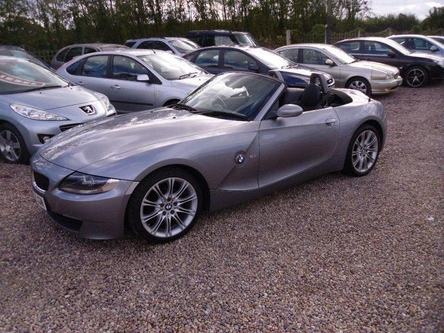 Used Bmw Z4 2006 Grey Paint Petrol 2 0i Sport Full Leather