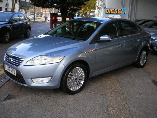 used ford mondeo 2008 blue paint diesel 2 0 tdci 140 ghia hatchback for sale in gravesend uk. Black Bedroom Furniture Sets. Home Design Ideas