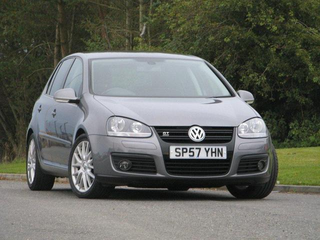 used volkswagen golf 2007 grey colour diesel 2 0 gt sport tdi hatchback for sale in turrif uk. Black Bedroom Furniture Sets. Home Design Ideas
