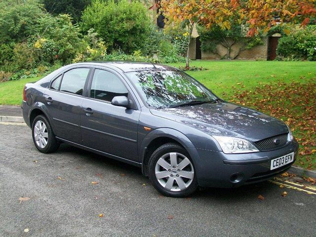used ford mondeo 2003 grey hatchback petrol manual for sale