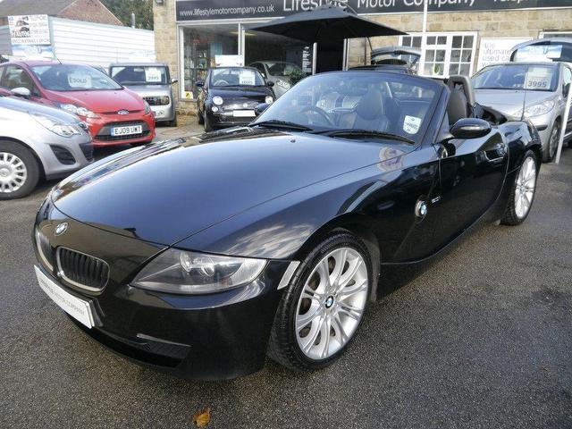 Used 2006 Bmw Z4 Convertible Black Edition 2 0i Sport 2dr