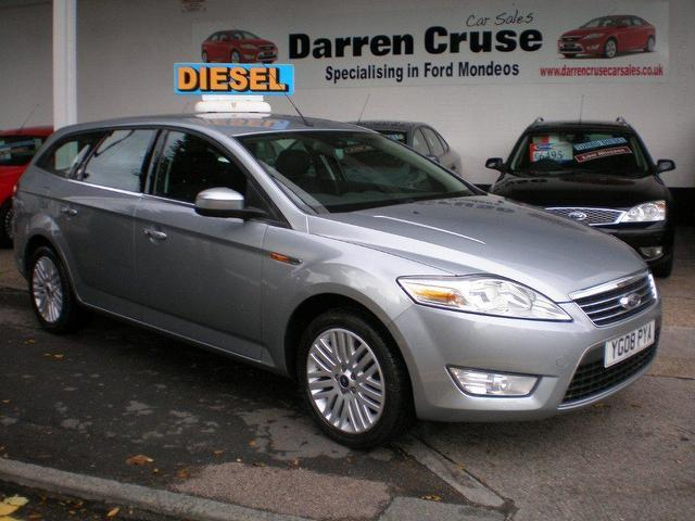 used ford mondeo 2008 diesel 2 0 tdci 130 ghia estate silver for sale in gravesend uk autopazar. Black Bedroom Furniture Sets. Home Design Ideas